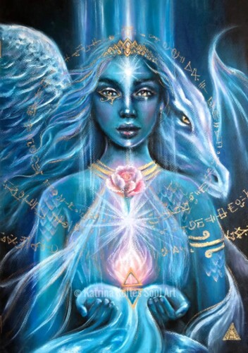 """Priestess of Divine Wisdom and Energy; Integrator of the Higher Realms; Keeper of Sacred Earth Knowledge."