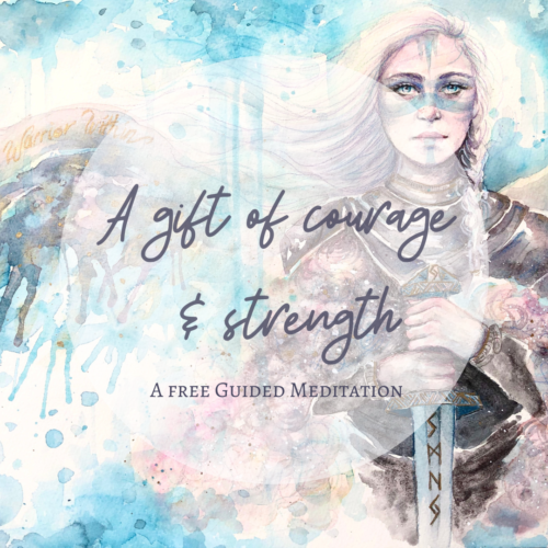 A gift of Courage and Strength